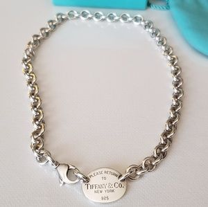 Authentic TIFFANY & Co Chocker Necklace